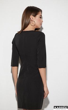 Платье Кайли, Черный - фото 4