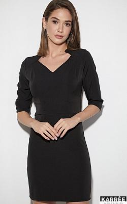 Платье Кайли, Черный