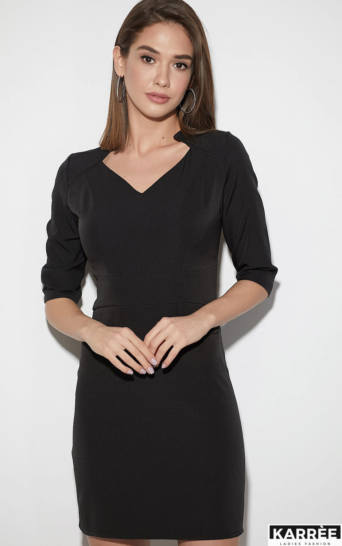 Платье Кайли, Черный - фото 2