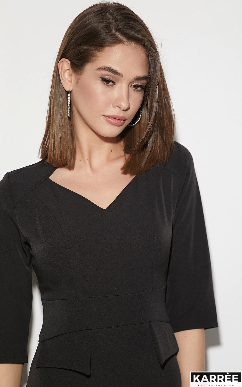 Платье Кайли, Черный - фото 3