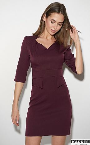 Платье Кайли, Бургунди - фото 2