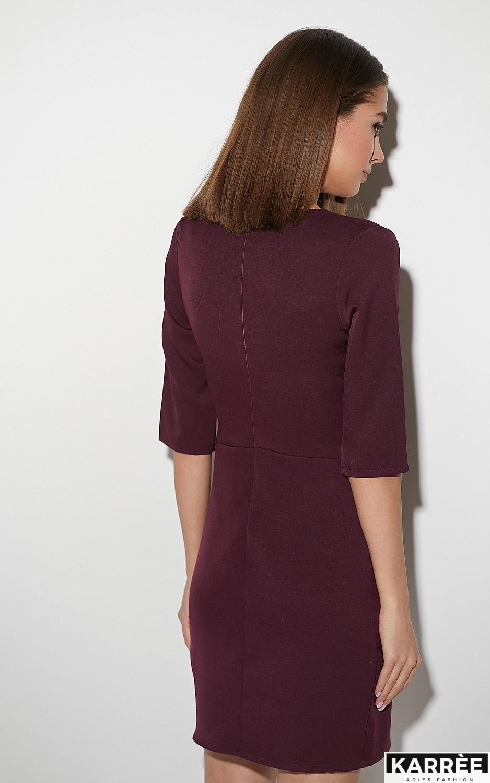 Платье Кайли, Бургунди - фото 3