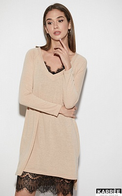 Платье Ультра, Бежевый