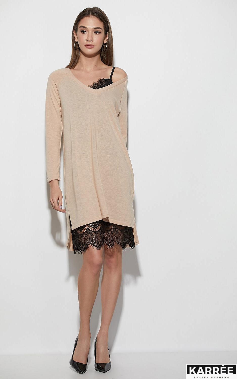 Платье Ультра, Бежевый - фото 1