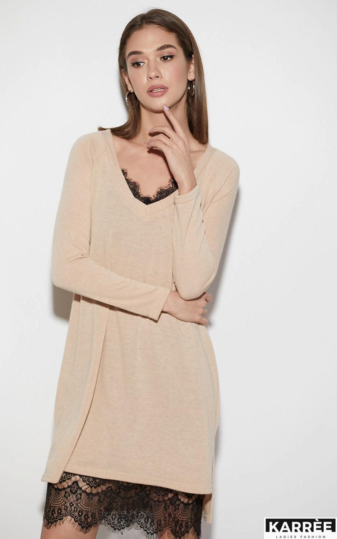 Платье Ультра, Бежевый - фото 2
