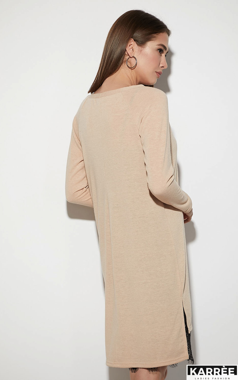Платье Ультра, Бежевый - фото 3