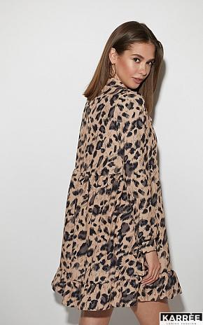 Платье Винси, Темно-бежевый - фото 4