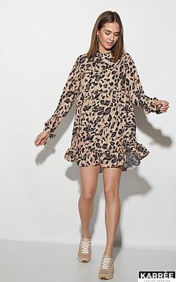 Платье Винси, Темно-бежевый