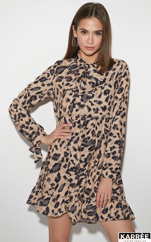 Платье Винси, Темно-бежевый - фото 3