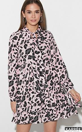 Платье Винси, Розовый - фото 1