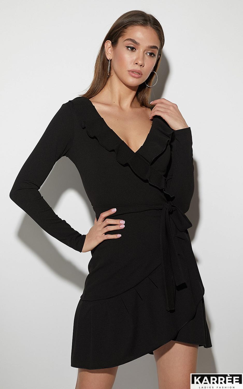 Платье Акура, Черный - фото 2