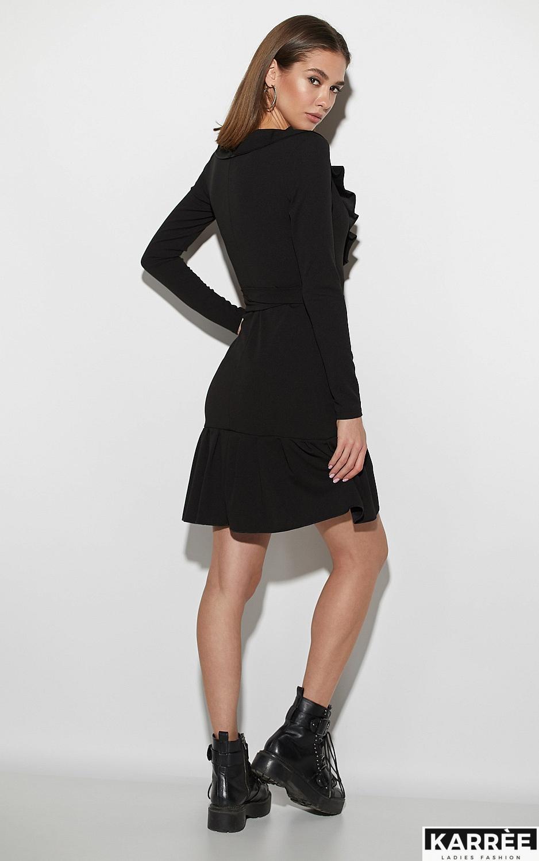 Платье Акура, Черный - фото 3