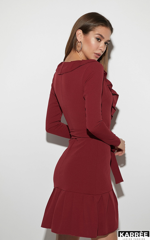 Платье Акура, Бордо - фото 3