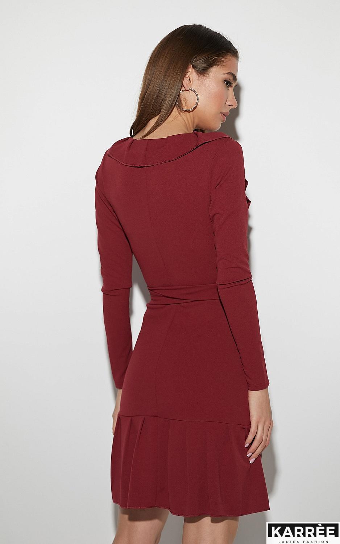 Платье Акура, Бордо - фото 4