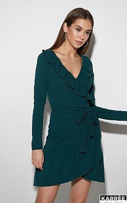 Платье Акура, Темно-зеленый