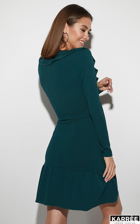 Платье Акура, Темно-зеленый - фото 3