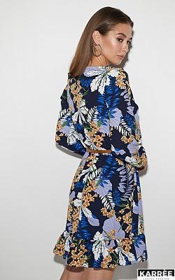 Платье Сальма, Темно-синий