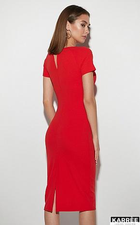 Платье Астра, Красный - фото 2