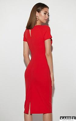 Платье Астра, Красный