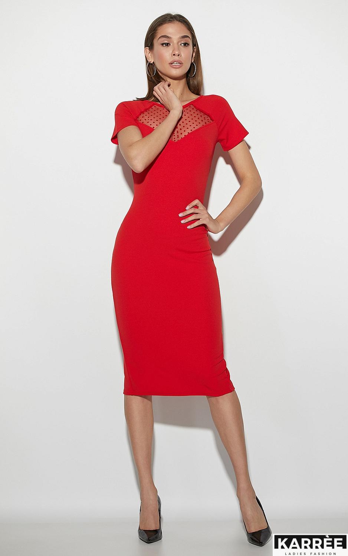 Платье Астра, Красный - фото 3