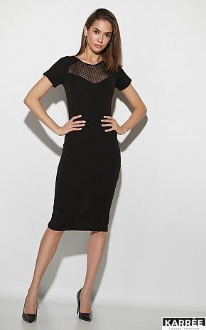 Платье Астра, Черный - фото 1