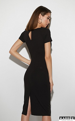 Платье Астра, Черный - фото 3