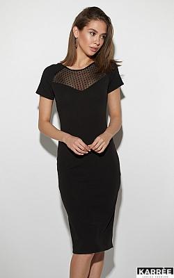 Платье Астра, Черный