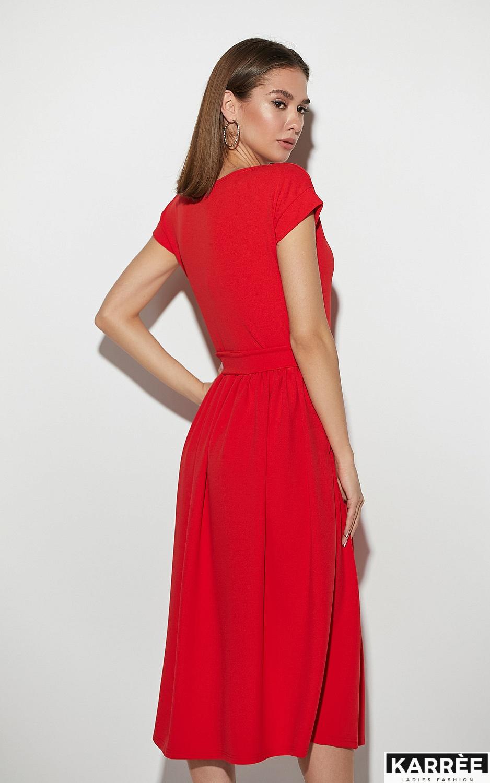 Платье Ментон, Красный - фото 3