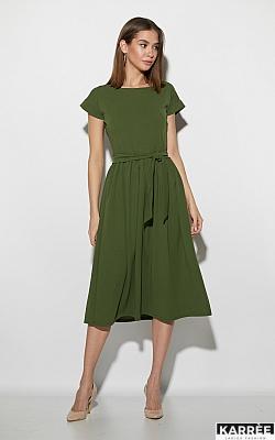 Платье Ментон, Хаки