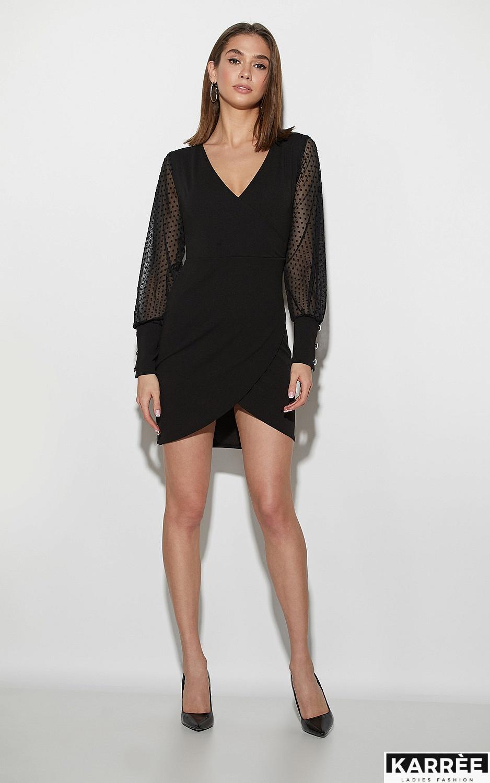 Платье Апероль, Черный - фото 2
