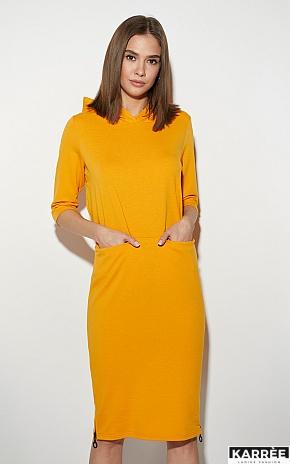 Платье Аванш, Рыжий - фото 2