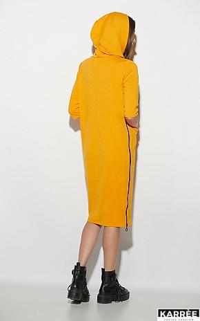 Платье Аванш, Рыжий - фото 3
