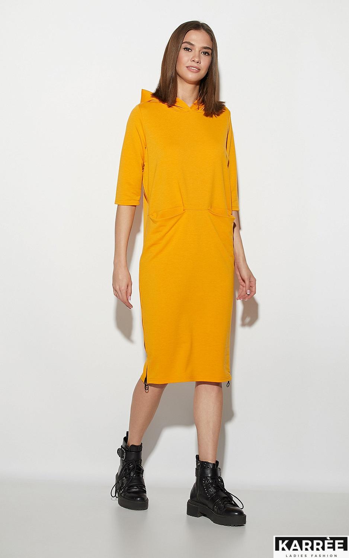 Платье Аванш, Рыжий - фото 1