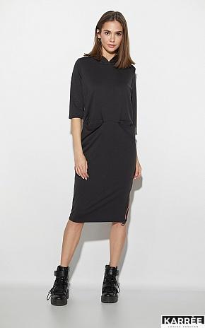 Платье Аванш, Черный - фото 1
