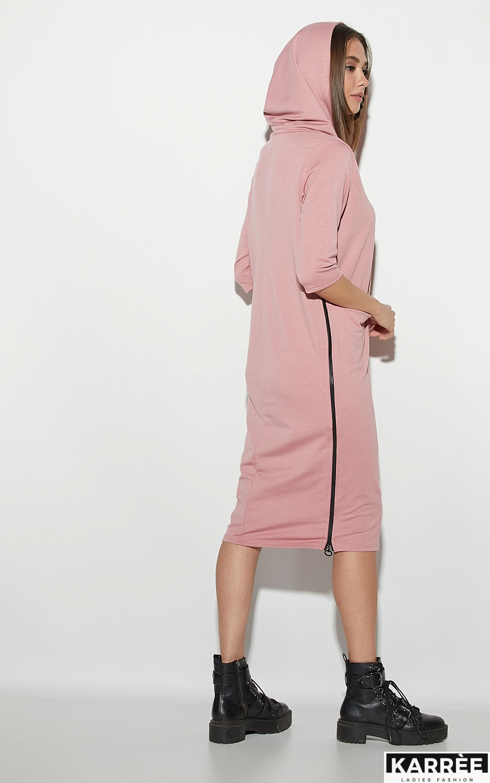 Платье Аванш, Пыльно-розовый - фото 2