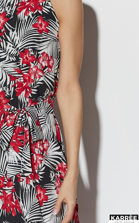 Платье Джулия, Черный - фото 4