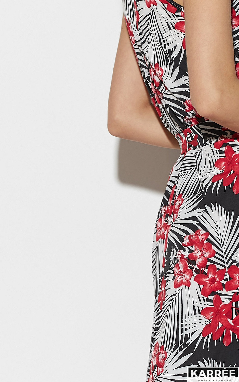 Платье Джулия, Черный - фото 5