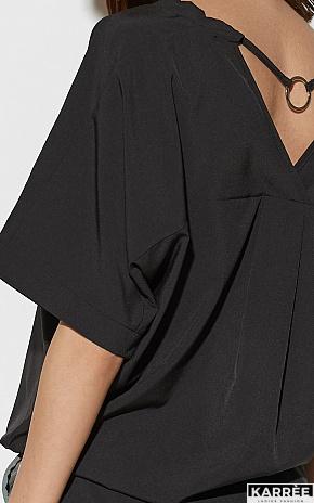 Блуза Токио, Черный - фото 2