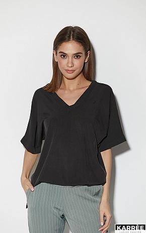 Блуза Токио, Черный - фото 1