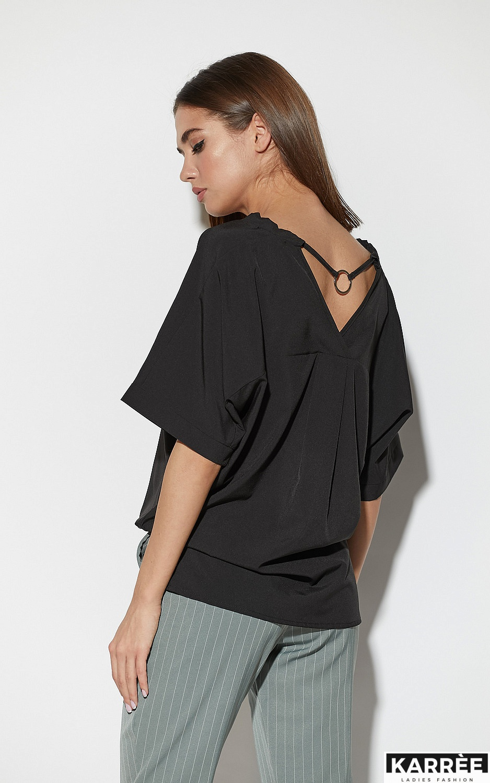 Блуза Токио, Черный - фото 5