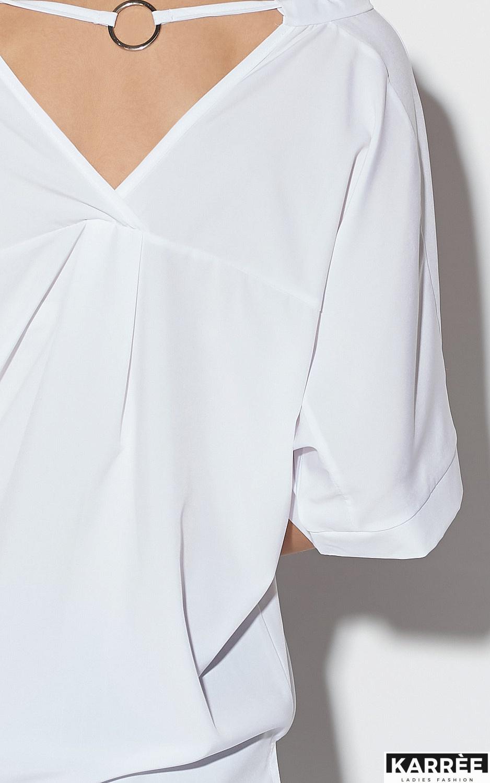 Блуза Токио, Белый - фото 4
