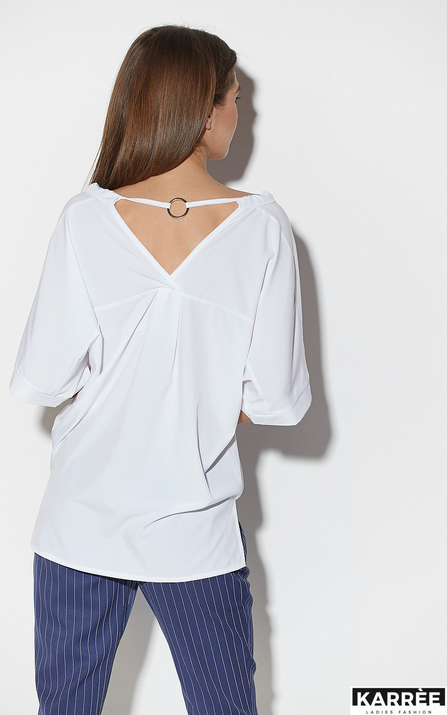 Блуза Токио, Белый - фото 5