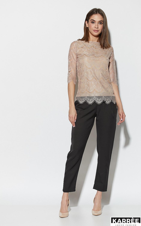 Блуза Зоуи, Бежевый - фото 1