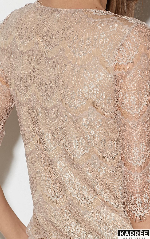 Блуза Зоуи, Бежевый - фото 4