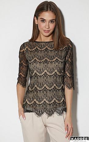 Блуза Зоуи, Черный - фото 1