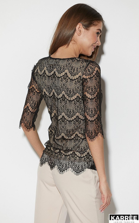 Блуза Зоуи, Черный - фото 6