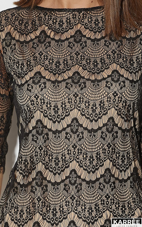 Блуза Зоуи, Черный - фото 3