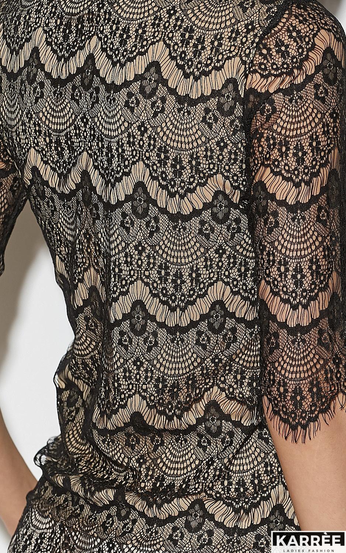 Блуза Зоуи, Черный - фото 5