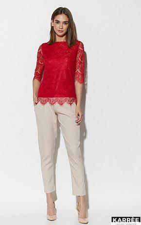 Блуза Зоуи, Красный - фото 2