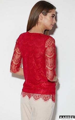 Блуза Зоуи, Красный - фото 5